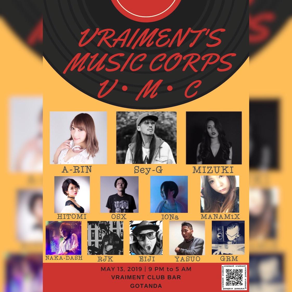 【5月13日】V・M・C〜VRAIMENT MUSIC COEPS〜