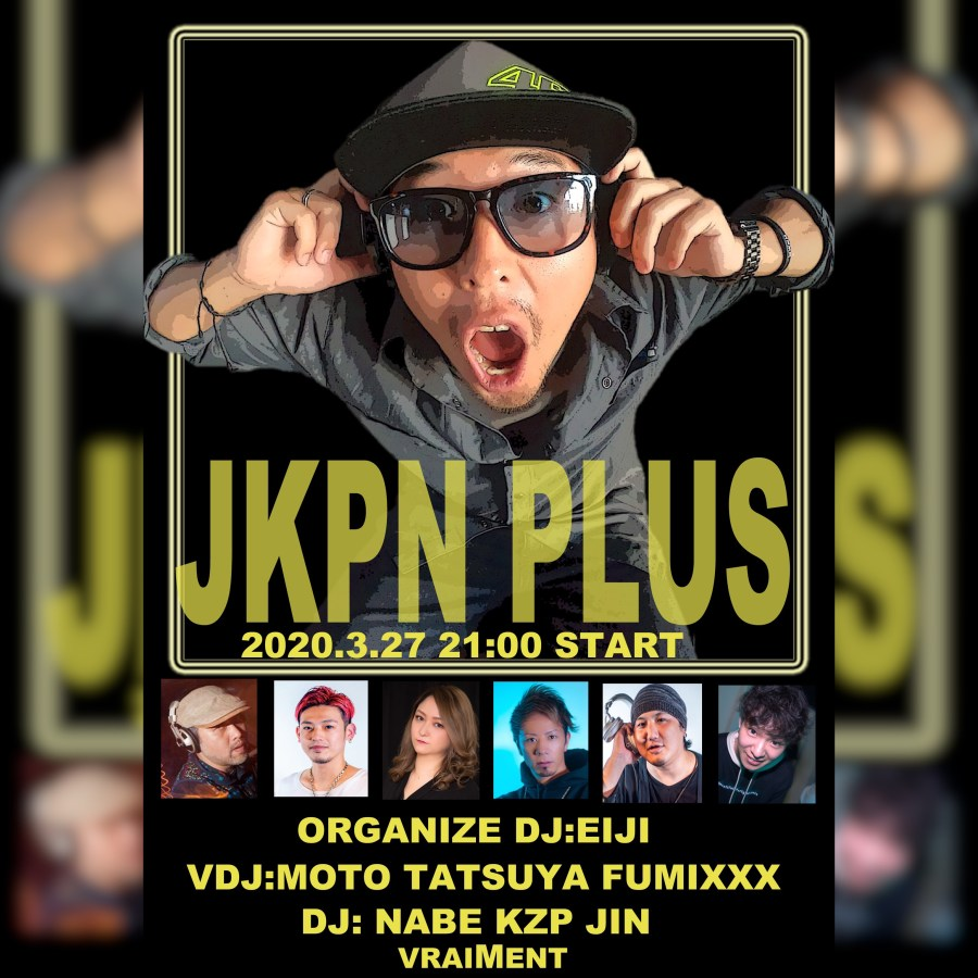 【3月27日】JKPN+ ~JAPAN KOREN PARTY NIGHT PLUS~
