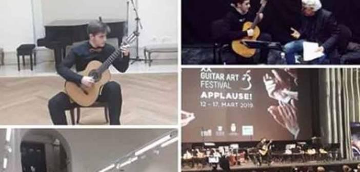 Дамјан Станковић из Врања победник Guitar Art Festivala