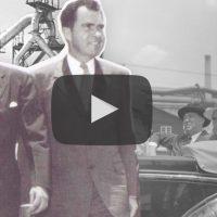 O dia que Richard Nixon e Juscelino Kubitschek visitaram Volta Redonda