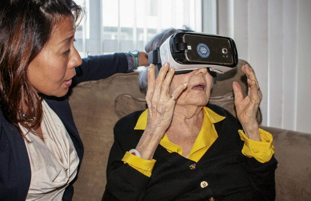 vr therapy elderly and stroke