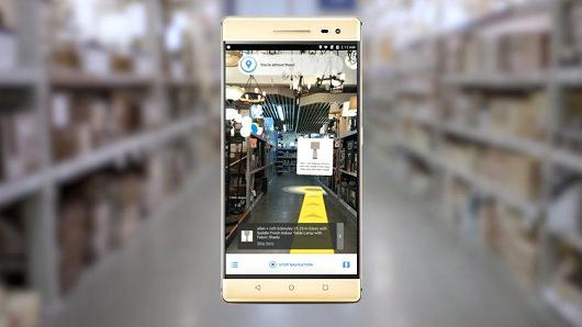 Lowes Gebruik van AR voor op je iPhone