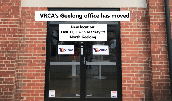 VRCA Geelong office move