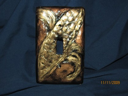 Light switch cover -sold