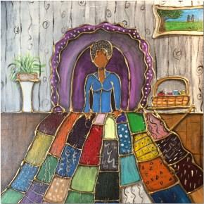 """Quilting Ruth""- SOLD"