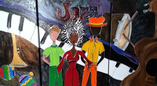 Jazz Triptch - For Sale