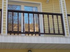 Balustrada din lemn Cernavoda