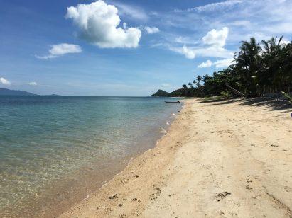 Прекрасный и безлюдный пляж