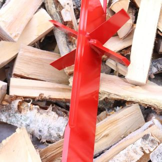 6 delingskniv rød