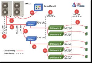 VRF Piping Design Software   VRF Wizard   Variable