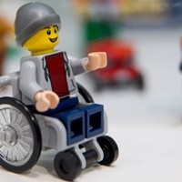 Lego Diversifies with Wheelchair Figurine
