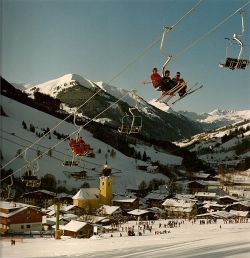 Kohlmais 3 pers. stoeltjeslift 1983