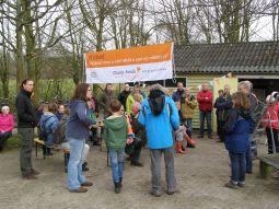 Opening NLdoet in Natuurtuin Zoetermeer op 11 maart 2017