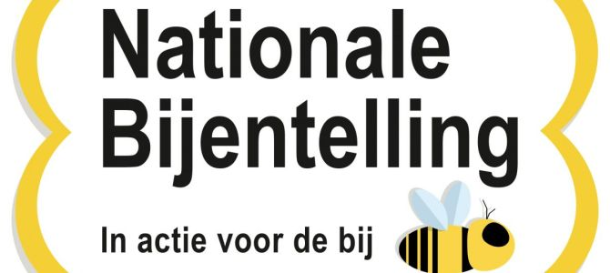 Doe mee met de Nationale Bijentelling op 18 en 19 april
