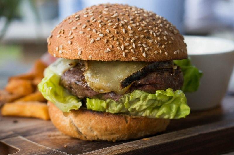 Cheeseburger van Restaurant Ruig