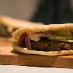 Marokkaanse lamsburger