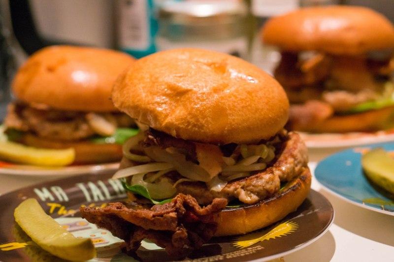 Tex-Mex Chicken Burger