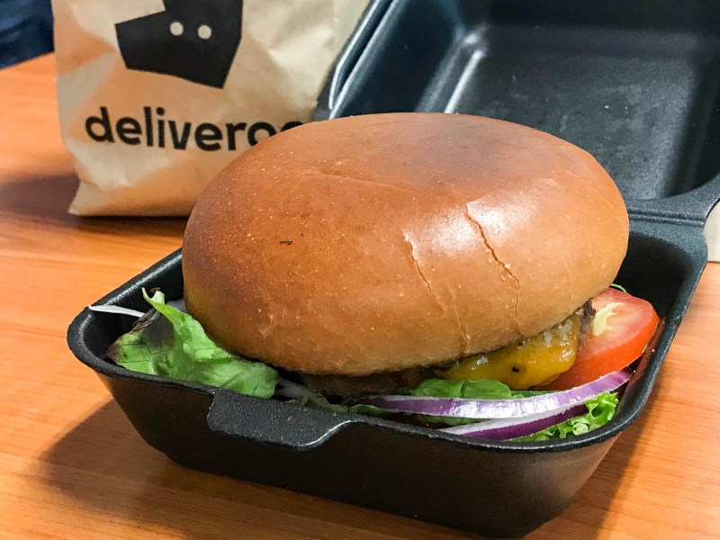 Barrel & Burger Deliveroo