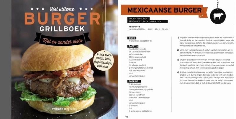 Het Ultieme Burger Grillboek