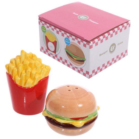Burger & Friet Peper- en Zoutstel
