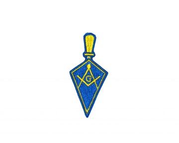 Badge Patch Widows Sons Blauwe Graden nederlandse regalia maçonniek Vrijmetselarij Vrijmetselaarswinkel Loge Benelux troffel