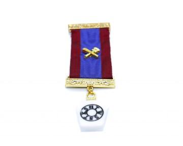 Borstjuweel Mark Master Mason Merk Meester nederlandse regalia maçonniek Vrijmetselarij Vrijmetselaarswinkel Loge