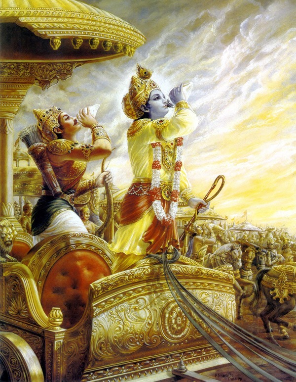 Bhagavad-gita Introduction (1): Yoga and the Journey within