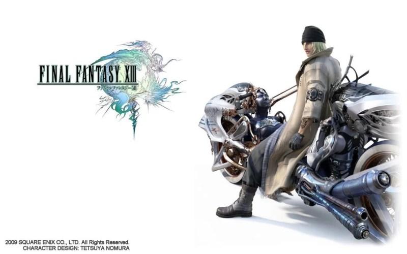 Snow Final Fantasy XIII