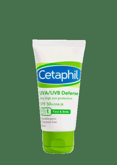 Cetaphil UVA/UVB Defense SPF 50+/UVA 28