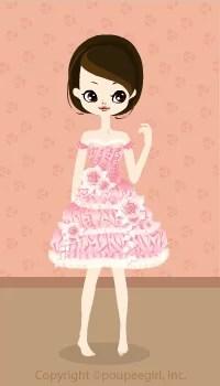 Marshmallow mini dress / 09F