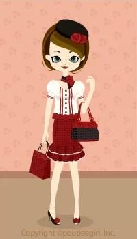 Rose lucky bag / 09HJ