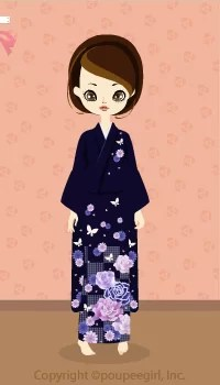 Kimono-Dreamy Flowers / 10A