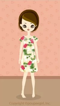 Muumuu dress / Wh09G