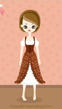 Cow Girl Dress / Br09I