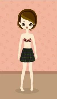 School skirt / gn09D
