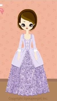 Flower dress / pr09IJ