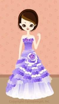 Flower frilled dress / 09F