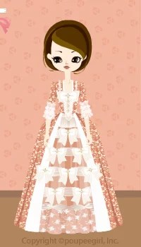 Noble dress / or09