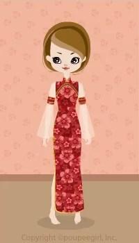 Gorgeous China Dress / Rd09C