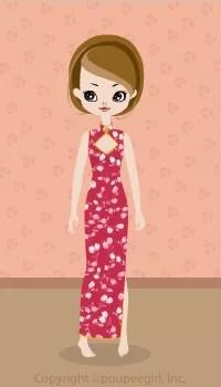 Sexy China Dress / Pk09C