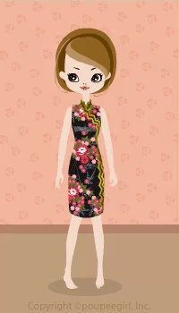 Cool China Dress / Bk09C