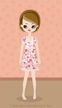 Flower cute dress / pk09D