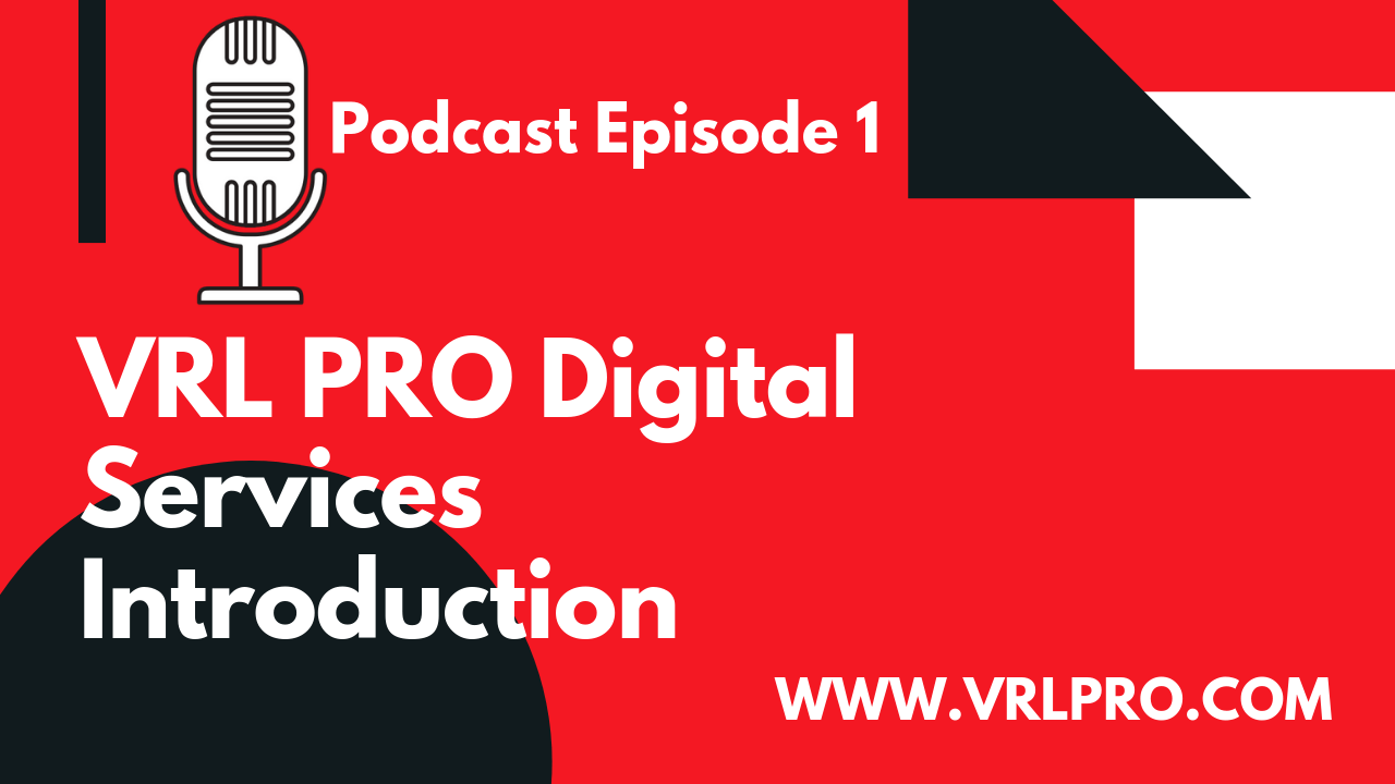 VRL PRO Services Introduction