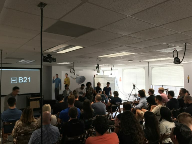 500 Startups Batch 21 SQ - VR Motion Corp