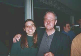 Vanessa with John Abercrombie, Banff International Jazz Workshop, Banff AB, 2003