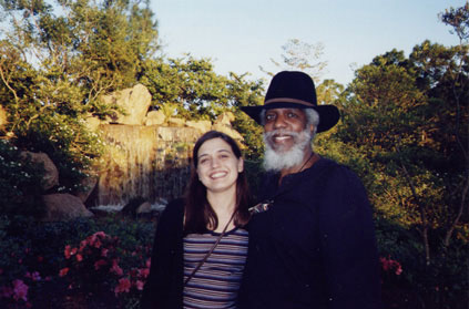 Vanessa with Dr. Lonnie Smith, Ft. Lauderdale, FL, 2002