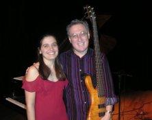 Vanessa with Oscar Stagnaro; Espace Dell'Arte, Montreal QC, November 2006