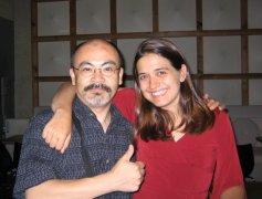 Vanessa with Yutaka Hashimoto at Jazz On Top in Osaka; August 23, 2005