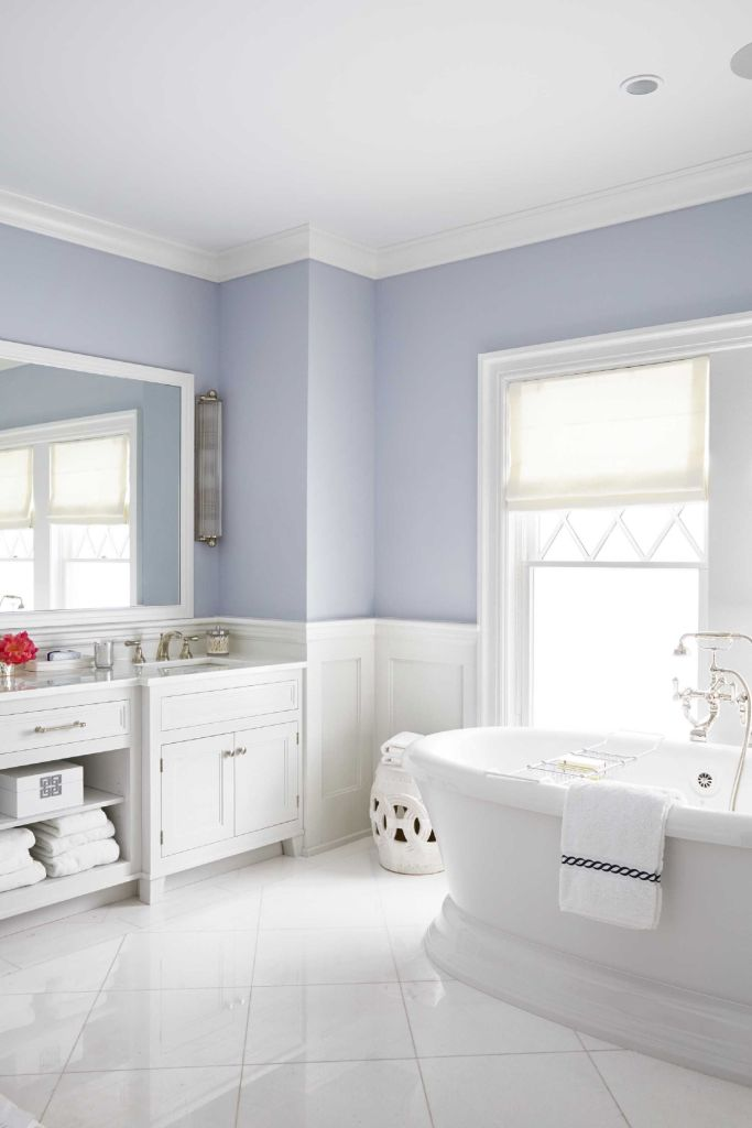 Extraordinary stylish color scheme ideas for your bathroom remodel 33