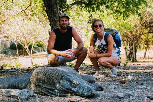 Komodo eilanden bezoeken